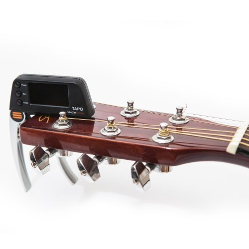 buy the tapo guitar capo with built in tuner all about capos. Black Bedroom Furniture Sets. Home Design Ideas